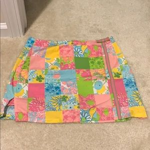 Lilly Patchwork SKORT